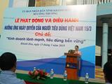 Hưởng ứng tham dự khai mạc phát động và diểu hành ngày quyền của người tiêu dùng Việt Nam 2019.