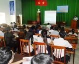 Tập huấn nâng cao kỹ năng chuẩn đoán doanh nghiệp tại Cam Ranh