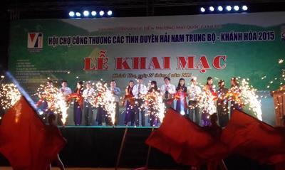 Hội chợ Công Thương các tỉnh duyên hải Nam Trung Bộ – Khánh Hòa 2015