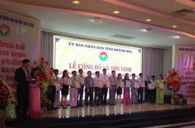 Khánh Hòa: Lễ công bố và Tôn vinh Sản phẩm công nghiệp nông thôn tiêu biểu cấp tỉnh năm 2015